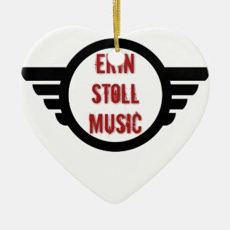 Offizieller Erin Stoll Musik-Flügel-Gang Keramik Ornament