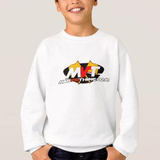 Offizieller Mann gegen Sache-Logo Sweatshirt