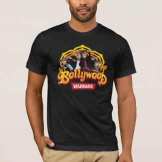 Offizieller schwarzer T - Shirt Bollywood Wannabe