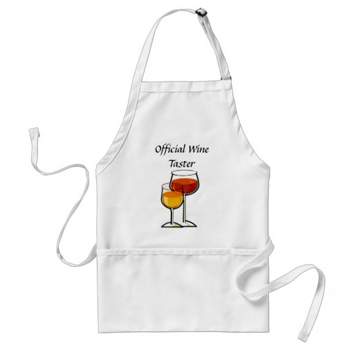Offizieller Wein-Schmecker Schürze