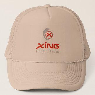Offizieller Xing Plattenen-Hut Truckerkappe
