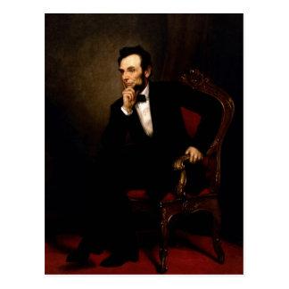 Offizielles das Haus-Porträt Abraham Lincoln Postkarte