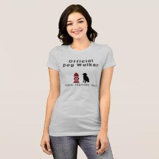 Offizielles Hundewanderer-T-Shirt T-Shirt
