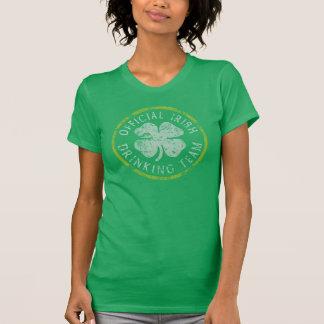 Offizielles irisches trinkendes Team T-Shirt