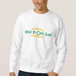 Offizielles Loch in einem Vereinsmitglied Sweatshirt