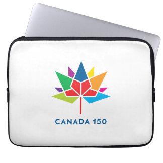 Offizielles Logo Kanadas 150 - Mehrfarben Laptop Sleeve