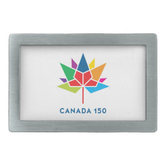 Offizielles Logo Kanadas 150 - Mehrfarben Rechteckige Gürtelschnalle