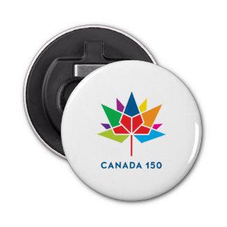 Offizielles Logo Kanadas 150 - Mehrfarben Runder Flaschenöffner