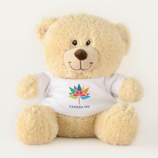 Offizielles Logo Kanadas 150 - Mehrfarben Teddybär