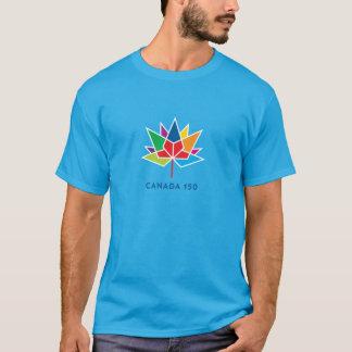 Offizielles Logo Kanadas 150 - Mehrfarben- und T-Shirt