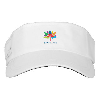 Offizielles Logo Kanadas 150 - Mehrfarben Visor