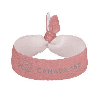 Offizielles Logo Kanadas 150 - Rot und Schwarzes Haarband