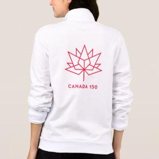 Offizielles Logo Kanadas 150 - rote Kontur