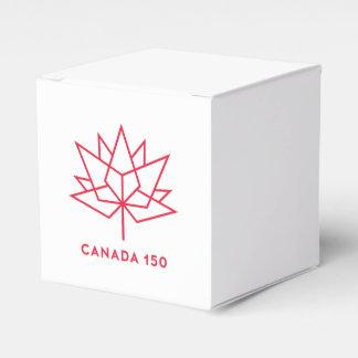 Offizielles Logo Kanadas 150 - rote Kontur Geschenkschachtel