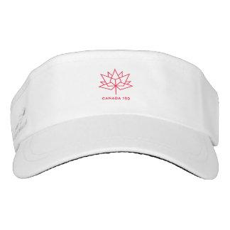 Offizielles Logo Kanadas 150 - rote Kontur Visor