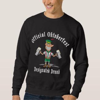 Offizielles Oktoberfest betrunkenes gekennzeichnet Sweatshirt