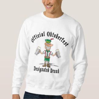 Offizielles Oktoberfest gekennzeichnet betrunkenen Sweatshirt
