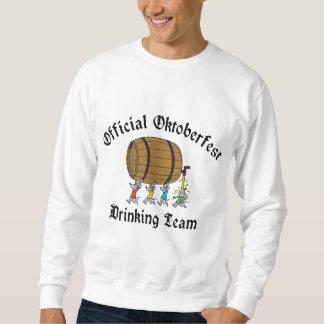 Offizielles Oktoberfest trinkendes Team-T-Shirt Sweatshirt