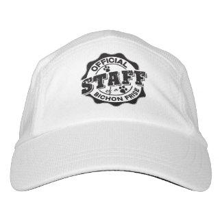 Offizielles Personal von einem Bichon Frise Headsweats Kappe