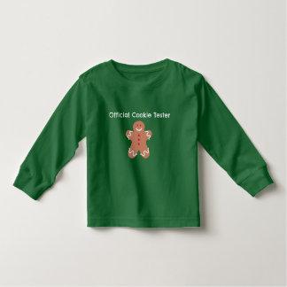 Offizielles Plätzchen-Prüfvorrichtungs-Grün Kleinkind T-shirt