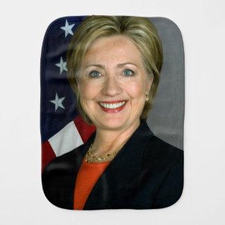 Offizielles Porträt Hillary Clinton Spucktuch