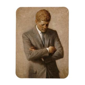 Offizielles Porträt John F. Kennedy Magnet