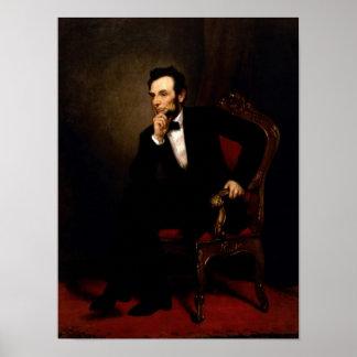 Offizielles Porträt-Plakat Abraham Lincoln Poster