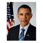 Offizielles Porträt von Präsidenten Barack Obama Postkarten