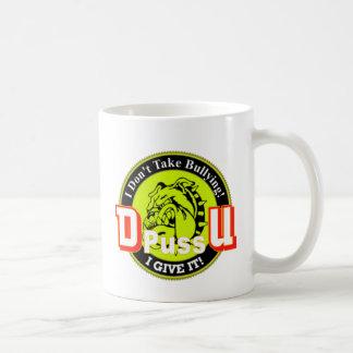 Offizielles Produkt De Pussification University Kaffeetasse