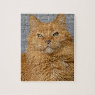 Offizielles Puzzle des Streifens Watching My Cat