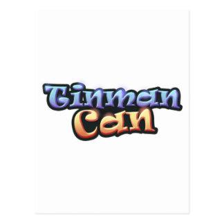 Offizielles Tinman kann verkaufen Postkarten