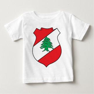 Offizielles Wappen des Libanons Wappenkunde-Symbol Baby T-shirt