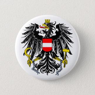 Offizielles Wappen Österreichs Wappenkunde-Symbol Runder Button 5,7 Cm