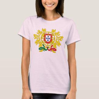Offizielles Wappen Portugals Wappenkunde-Symbol T-Shirt