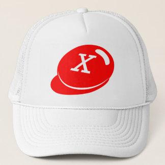 Offizielles X-OUT (weißer Hut) Truckerkappe