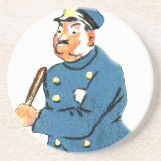 Offizier im Dienst Sandstein Untersetzer