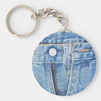 Öffnen Sie Blue Jeans keychain Schlüsselanhänger