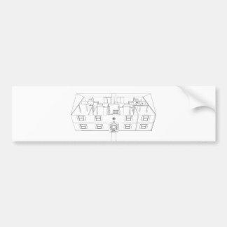Öffnen Sie Floorplan Zeichnen: Autoaufkleber