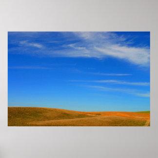 Öffnen Sie Graslandphotographie auf Leinwand Plakate