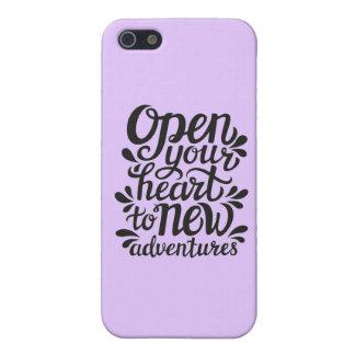 Öffnen Sie Ihr Herz zu den neuen Abenteuern Schutzhülle Fürs iPhone 5