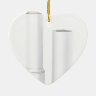 Öffnen Sie Lippenbalsamstock Keramik Ornament