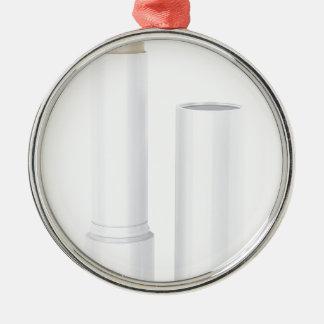 Öffnen Sie Lippenbalsamstock Silbernes Ornament
