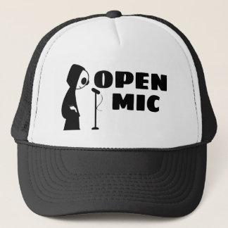 Öffnen Sie Mic-LKW-Hut Truckerkappe