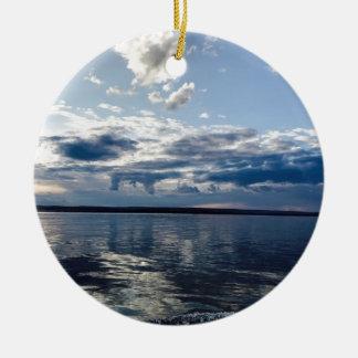 Öffnen Sie Ozean Keramik Ornament