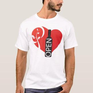 Öffnen Sie Schade Nebenfluss-Weinkellerei T-Shirt