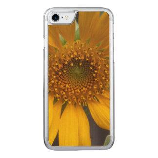 Öffnen Sie Sonnenblume Carved iPhone 8/7 Hülle