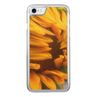 Öffnungs-Sonnenblume Carved iPhone 8/7 Hülle