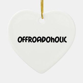 Offroadoholic Keramik Ornament