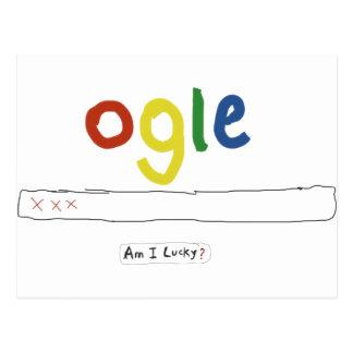 ogle_am I glücklich Postkarte
