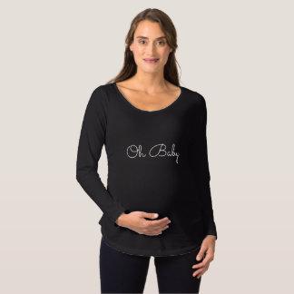 Oh Baby-Mutterschafts-Shirt Schwangerschafts T-Shirt